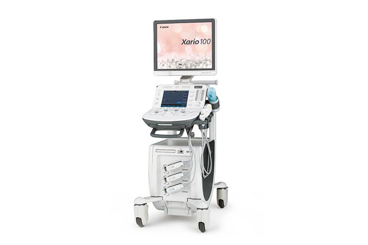 超音波診断装置 Xario 100 キャノンメディカル社製